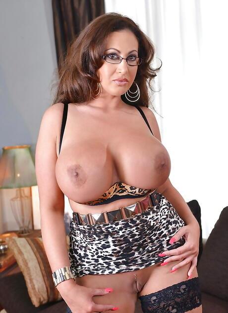 Latina in Glasses Pics